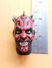 "1/6 scale Star Wars Darth Maul 's head for custom 12 "" figure Hasbro"
