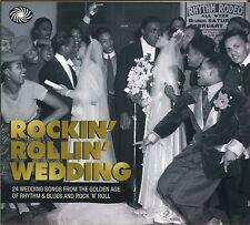 Rockin' Rollin' Wedding CD NEW SEALED Buddy Holly/Big Bopper/Five Satins/Orchids