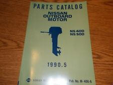Nissan M-406-A Parts Catalog Ns 40D Ns 50D