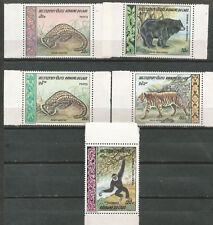 LAOS Scott # 192/193 C59/61 ** MNH Set Fauna