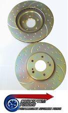 Excroissances rainure disques de frein Avant x2-pour skyline R32 GTR non V-Spec RB26DETT