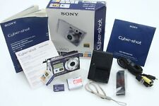 Sony Cyber-shot DSC-W80 7.2MP Digital Camera - Black ib 391221