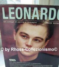 libro_LEONARDO DI CAPRIO PAROLE E IMMAGINI_photobook_by Grace Catalano_1998