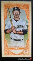 Keston Hiura 2020 Topps Gypsy Queen Fortune Teller Insert Card #12 Brewers
