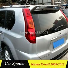 For 2008 - 2012 Nissan X-trail X Trail ABS Unpaint Tail Wing Rear Roof Spoiler