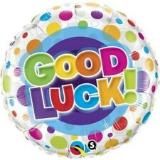 "Bright and Colourful Good Luck 18"" Foil Balloon"
