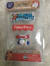 World's Smallest Chatter Phone Fisher-Price New Actually Works