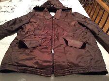 Vintage Size Large Horace Goldfighter Hooded Quilted Jacket