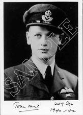 Set 50 RAF WWII WW2 BoB Battle of Britain crew hand signed photos