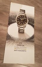 CARTONNAGE PUBLICITAIRE OMEGA SEAMASTER / PLV GOODIES OMEGA WATCH 27 × 59 cm
