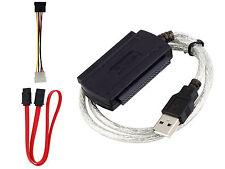 Cable Adaptador IDE SATA 2.5/3.5 a USB Conversor para Disco Duro HDD DVD 2302