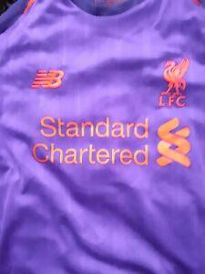 Liverpool 2018 M Salah 11  Away Kit  Size L Boys