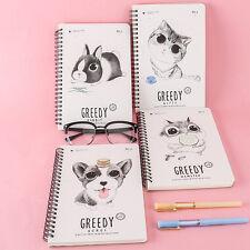 Portable Cute Cartoon Kraft Paper Note Book Memo Diary Notebook Exercise Book