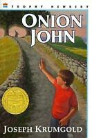 Onion John, Krumgold, Joseph,0064401448, Book, Acceptable