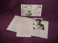 FALKLAND ISLANDS MAJOR ASSAULT RAFA 4 WW2 FLYING ACE CAREY SIGNED LTD EDIT COVER
