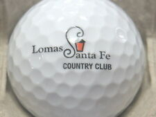 (1) LOMAS SANTA FE COUNTRY CLUB GOLF COURSE LOGO GOLF BALL