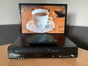 PANASONIC DMR-EZ49V DVD - VHS RECORDER HDMI