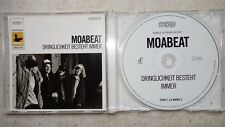 MOABEAT ‎– Dringlichkeit besteht immer  PROMO-CD  New Noise ‎NN009-2  Rap HipHop