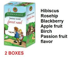 Bioprograma Herbal Tea FOREST NOOK 40 x 1.5g / 2 Boxes / 100% Natural