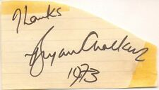 Bryan Chalker signed autograph 1973 British country music singer New Frontier