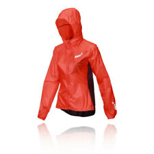Inov8 Womens Windshell Full Zip Jacket Top - Purple Red Sports Running Windproof