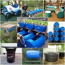 Plastic Drums Blue 200 litre