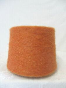 "Wolle Kone""Neue-Miroglio""1,25Kg 23,30€/Kg""orange""Mohair-Acryl-Nm 9,5"