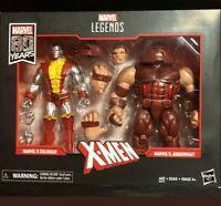 Marvel Legends 80th Anniversary Juggernaut vs Colossus