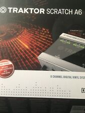 Native Instruments Traktor Scratch A6 DVS Comes With Software Transfer Code