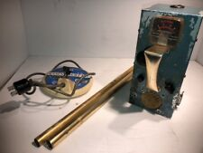 VINTAGE WHITE'S COINMASTER COOL RETRO STEAMPUNK METAL GOLD DETECTOR