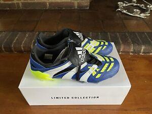 Adidas Predator Accelerator K-Leather Blue UK10 - Football Boots