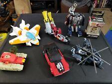 Transformers Toy Lot 6 Figures Plus JD Fenix Gears of War Keychain in box