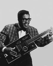 American Blues Singer BO DIDDLEY Glossy 8x10 Photo Musical Print Poster