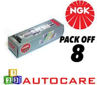 NGK Laser Platinum Spark Plug set - 8 Pack - Part Number: PMR8B No. 6378 8pk