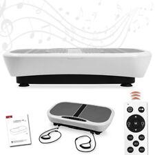 Profi Vibrationsplatte 400W mit 3D Vibration Heimtrainer Shaper Massage Platte