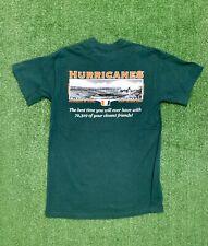 Retro Miami Hurricanes Orange Bowl T-shirt. Size Small. Good condition. See pics
