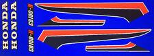 HONDA CB100N RESTORATION DECAL SET BLUE BIKE