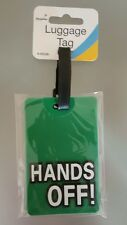 Luggage Tag HANDS OFF !