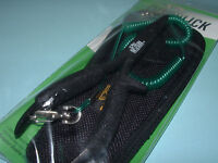 """Dr Slick Black Chain Nose Pliers Cutter Holster & Lanyard 6"""" PCNB6FX"""