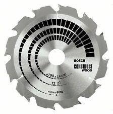 Bosch Construct Wood circular saw blade 160 x 20/16 x 2.6 mm. 12 2608640630