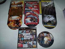 """Grand Theft -Prince Of Persia-Far Cry and Gran Turismo """"Bulk Lot 4 Great  Game"""""""