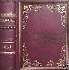 1861 THE LEGISLATIVE MANUAL OF THE STATE OF NEW YORK