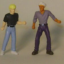 Jonny Quest and Hadji PVC Figure  Set  made in 1996   RARE!