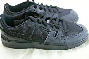 new Nike Big Kid Squash-Type Casual Shoes Black/Anthracite CJ4119 001 size 6.5Y