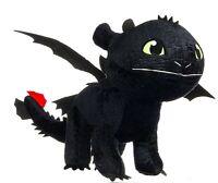 Dragons Peluche Dragón Película Furia Darkened Talla Grande 50cm Trainer Orig