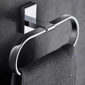 Brass Wall Mount Chrome Towel Ring Towel Holder Bathroom Accessories Towel Rack