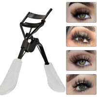 Professional Eyelash Curler Refill Pad Curling Beauty Tool White Rubber Handles