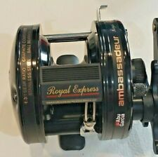 Scarce New in box Ambassadeur Royal Express narrow spool LEFT hand casting reel
