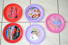 Children's Character Dinner Plates Princesses Fairies Cars
