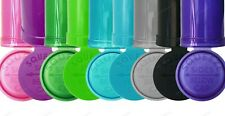 More details for 13 and 19 dram pop top squeeze pot stash container smell proof child proof